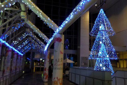 イルミ2011仙台駅前2