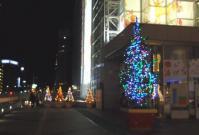 イルミ2011仙台駅前3