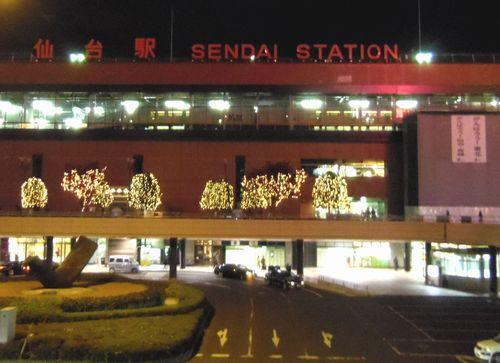 イルミネーション2011仙台駅1