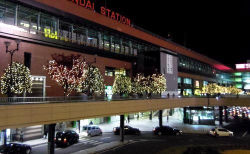 イルミネーション2011仙台駅2