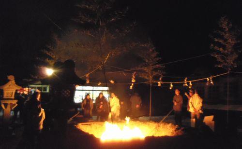 どんと祭2012金蛇水神社2