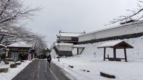 雪の白石城2