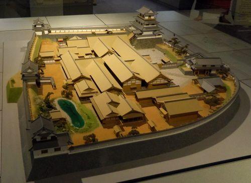 白石城歴史探訪ミュージアム9白石城模型