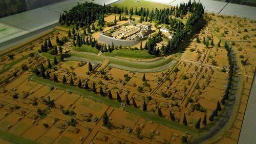 白石城歴史探訪ミュージアム10白石城模型