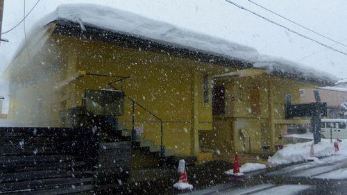 冬の鳴子温泉12早稲田桟敷湯
