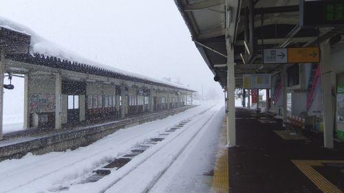 鳴子温泉駅7ホーム