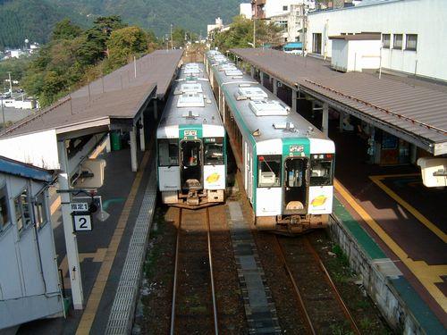 鳴子温泉駅14キハ110