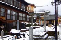 飯坂温泉鯖湖湯4鯖湖神社