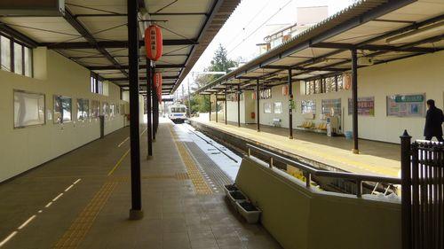 福島交通飯坂温泉駅7