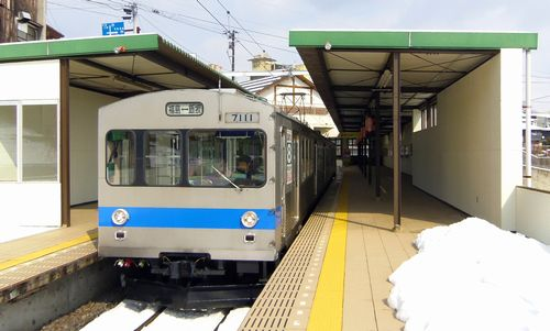 福島交通飯坂温泉駅9
