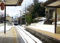 福島交通飯坂温泉駅10