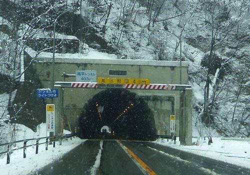 国道13号栗子峠4