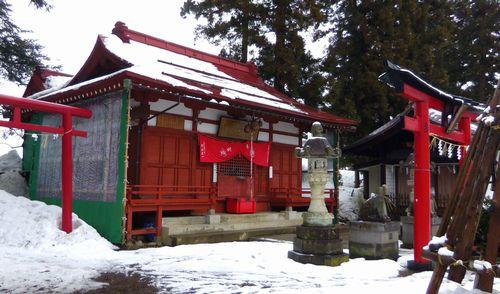 上杉神社周辺7福徳稲荷神社