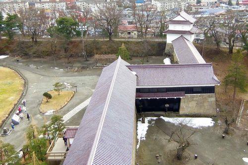 会津若松鶴ヶ城14走長屋