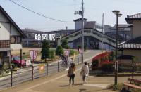 桜2012白石川堤8船岡駅