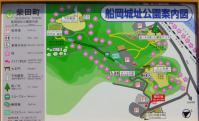 桜2012船岡城跡公園2案内板