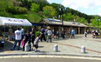 芝桜2012小原温泉10休憩所