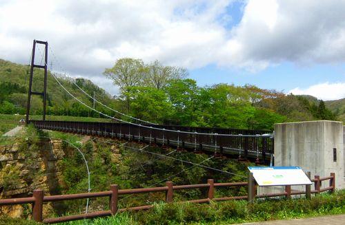 芝桜2012小原温泉12吊り橋
