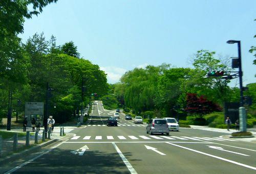 仙台青葉城21国際センター前