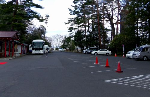 仙台青葉城33本丸駐車場