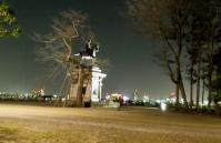 仙台青葉城夜景4本丸跡