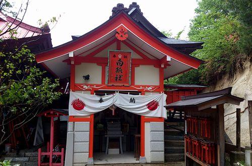 高屋敷稲荷神社10白狐社