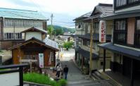 蔵王温泉9須川温泉神社眺望