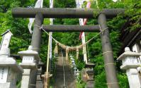 蔵王温泉11須川温泉神社鳥居