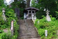 蔵王温泉12須川温泉神社参道口