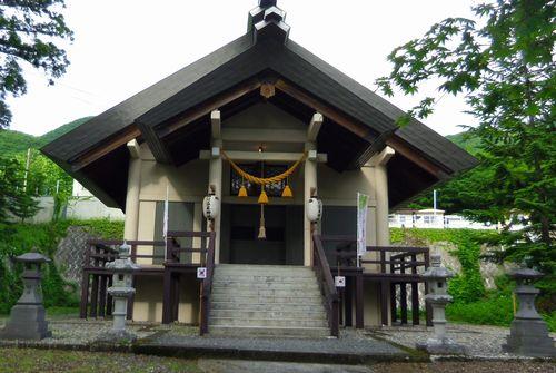 蔵王温泉15須川温泉神社拝殿
