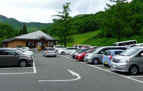 蔵王大露天風呂9駐車場