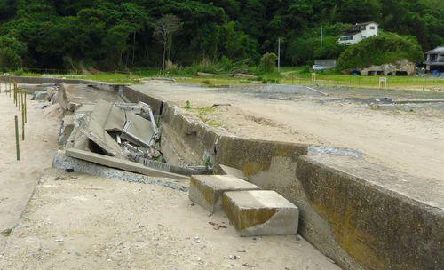 東松島市野蒜震災12月浜