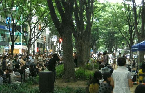 仙台ジャズフェス2012_3定禅寺通