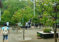 陸羽東線有備館駅7中庭
