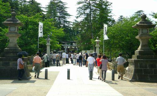米沢上杉神社1舞鶴橋