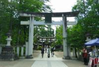 米沢上杉神社2鳥居