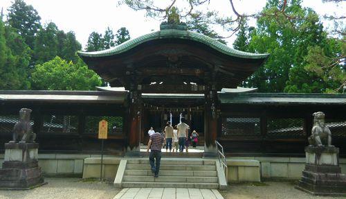 米沢上杉神社4唐門