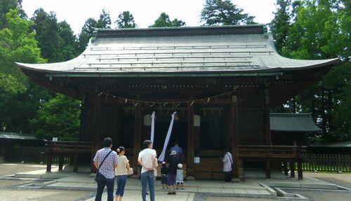 米沢上杉神社5拝殿