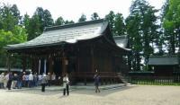 米沢上杉神社6拝殿本殿