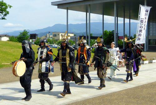 米沢上杉神社12山形置賜愛の武将隊