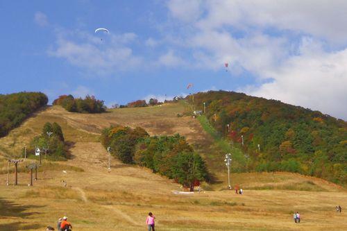 紅葉2012泉ヶ岳5泉ヶ岳スキー場