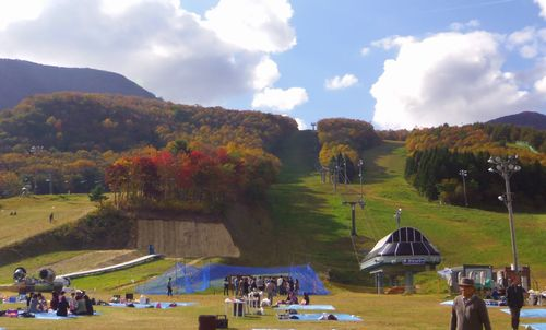 紅葉2012泉ヶ岳12スプリングバレースキー場