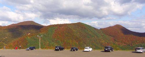 紅葉2012泉ヶ岳13スプリングバレースキー場