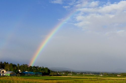 紅葉2012鳴子峡2虹