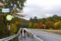 紅葉2012鳴子峡6大深沢橋