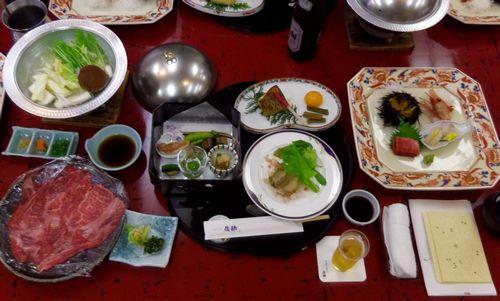 秋保温泉佐勘8夕食