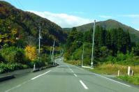 国道398号紅葉の花山峠5