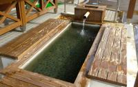 紅葉2012小安峡温泉5観光総合案内所足湯