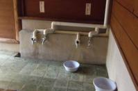 小安峡温泉とことん山露天風呂12洗い場
