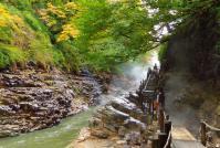 小安峡大噴湯7散策路河原